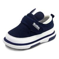 宝宝透气网鞋0-1-2岁兔耳朵叫叫鞋男童女童机能婴幼儿步前鞋童鞋