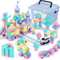 积木拼装玩具智力6-7-8-10岁男孩女孩儿童礼物1一3岁宝宝塑料拼插