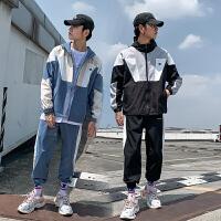 休闲运动男套春秋季新款韩版潮流搭配帅气一套秋装衣服两件套