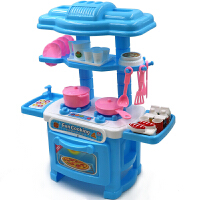 儿童做饭娃娃家办过家家仿真小厨房小厨师玩具套装组合1-3-6岁5女