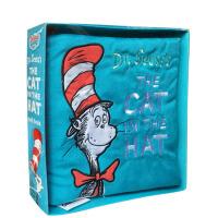 英文原版绘本 The Cat in the Hat Cloth Book 布书 苏斯博士Dr. Seuss 0-3岁宝