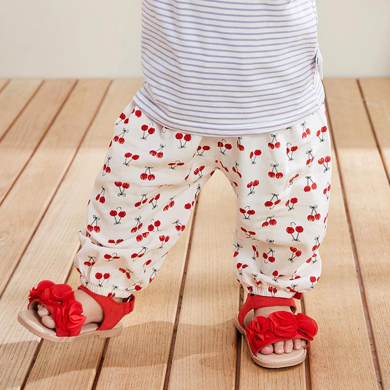 【清仓3件3折】迷你巴拉巴拉儿童防蚊裤婴儿灯笼裤2019夏装新款童装男女宝宝长裤