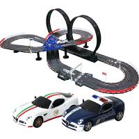 轨道赛车电动轨道车 儿童遥控汽车轨道玩具车套装