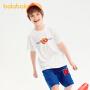 【抢购价:29.9】巴拉巴拉男童短袖t恤2021新款夏装吸湿速干儿童打底衫中大童潮酷
