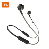 【当当自营】JBL TUNE205BT 珊瑚绿 无线蓝牙耳机 运动耳机 T205BT半入耳式音乐耳机 带麦手机可通话