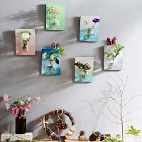 墙上装饰品3D水培花器立体田园创意家居客厅墙面装饰墙壁挂饰壁饰