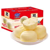 港荣蒸蛋糕整箱1kg奶香味 新日期 早餐蛋糕软面包糕点心特产零食品