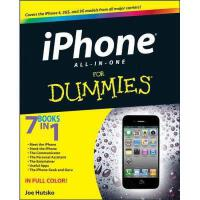 【预订】Iphone 4S All-In-One For Dummies