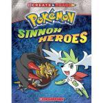【预订】Pokemon: Create and Trace Sinnoh Heroes