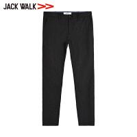 【35折价129.15元】JACKWALK季2018青年修身弹力西裤男士商务休闲裤