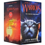 【顺丰速运】英文原版绘本 Warriors Power of Three Box Set:Volumes 1 to 6