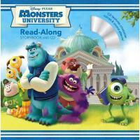 英文原版儿童书 怪物大学 书+CD 有声读物 Monsters University Read-Along Story
