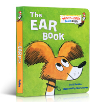 英文原版 The Ear Book 耳朵书 苏斯博士 Dr. Seuss 低幼儿童基础感官声音与耳朵英语阅读启蒙读物纸