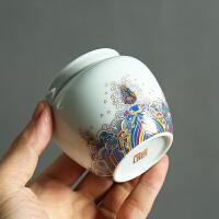 青瓷茶叶罐家用陶瓷茶罐小号普洱装茶叶盒便携迷你旅行存储密封罐