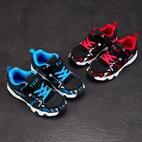 儿童运动鞋 男女童鞋2020春季新款韩版舒适休闲健身鞋运动鞋迷彩青少年品牌儿童鞋子