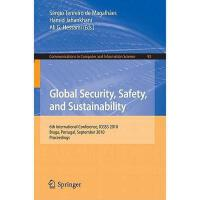 【预订】Global Security, Safety, and Sustainability: 6th