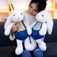 小白兔子毛绒玩具安抚兔公仔玩偶布娃娃女生儿童公主抱睡可爱超萌
