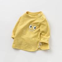 戴维贝拉春季新款男童T恤宝宝卡通套头上衣DBW10369