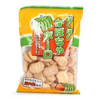 日本岩本 南瓜味磨牙饼干 125g 12个月以上宝宝适用 宝宝磨牙