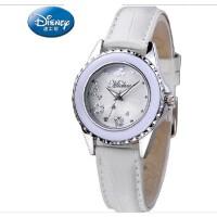 迪士尼手表 女 中学生韩版女生真皮小表盘女表 时尚米奇手表