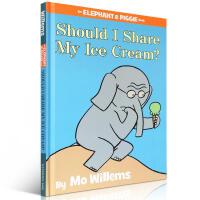 【精装版】英文原版 An Elephant and Piggiebook Should I Share My Ice