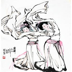 刘文西《唐舞》当代著名画家