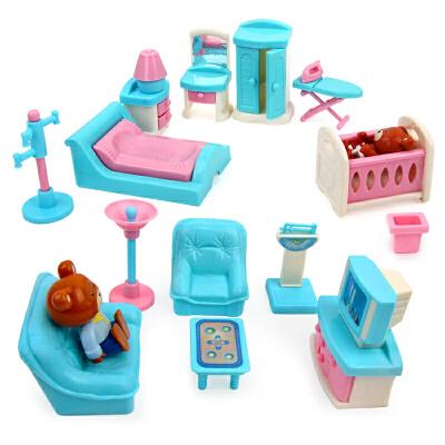 星月 甜甜家具过家家41件套 儿童厨房做饭玩具套装 女孩3-6岁益智玩具限时钜惠