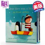 Oliver Jeffers摘星星的孩子系列 智慧小孩3本套装 英文原版 Once There Was a Boy3册