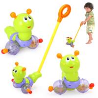 推推乐摇摆手推车宝宝学步拖拉玩具推杆动物手拉车 DS104