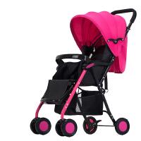 婴儿推车超轻便携可坐可躺折叠避震手推车伞车bb宝宝儿童小婴儿车4