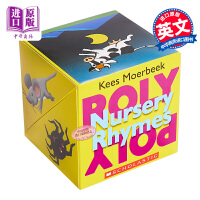 【中商原版】Roly Poly Pop-up Nursery Rhymes 学乐翻转书童谣 英文原版 0-3岁