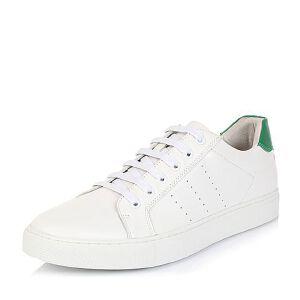 Belle/百丽夏专柜同款牛皮男休闲鞋4NL01BM6小白鞋运动鞋女小白鞋女