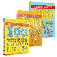 英文原版100 Vocabulary Words kids need to read Know by 1 2 3 三册