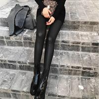 孕妇皮裤打底裤长裤子2018春秋装新款托腹裤秋冬季加绒外穿