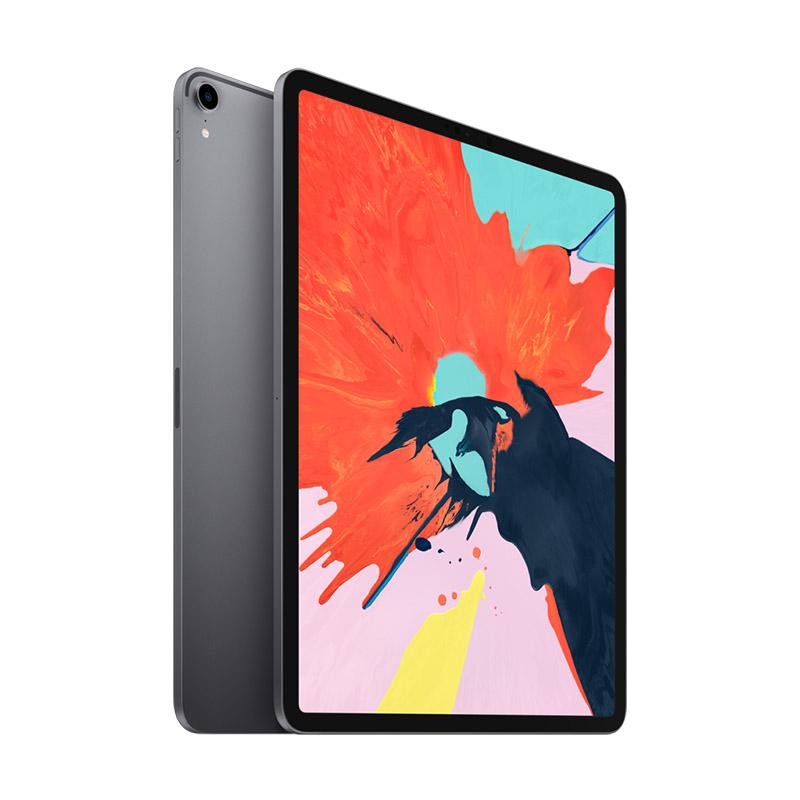 Apple iPad Pro 平板电脑 2018款 12.9英寸(64G WLAN版/全面屏/A12X芯片/Face ID MTEL2CH/A)深空灰色可使用礼品卡支付 国行正品 全国联保