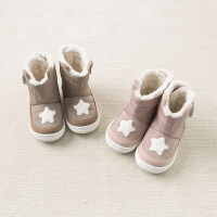 加绒戴维贝拉男女童冬季靴子 宝宝保暖棉靴DB8786
