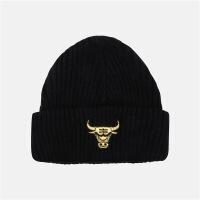 nba帽子潮流服饰芝加哥公牛队共用款单标针织冷帽 F