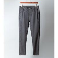 秋冬季新品男士羊毛西裤 舒适保暖 商务休闲修身西装裤 男裤