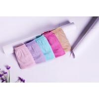 一次性女士旅行纯棉非纸免洗内裤全棉透气学生军训12条装 肤色粉色浅蓝色浅绿色浅紫色 12条装颜色随机发
