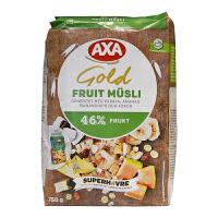 瑞典AXA46%水果什锦混合麦片进口早餐营养麦片750g