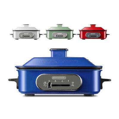 英国摩飞MR9088多功能电动烧烤锅火锅料理锅电烤炉家用网红电烤锅 一锅多用