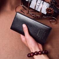 新款休闲男士钱包长款韩版拉链青年软皮夹男式短款学生零钱包