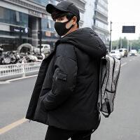 羽绒服男短款2018新款韩版修身反季节加厚青年学生男士潮流外套