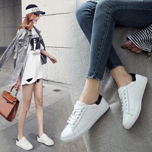 ZHR2018春季新款韩版百搭小白鞋运动鞋平底休闲鞋子单鞋学生女鞋E119