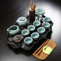 茶具套装整套紫砂茶壶茶杯茶盘陶瓷简约家用泡茶壶