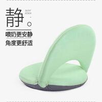 喂奶椅子床上用靠背垫哺乳靠垫孕妇产妇月子产后坐垫靠枕头护腰枕 任意档位静音款 绿色 均码