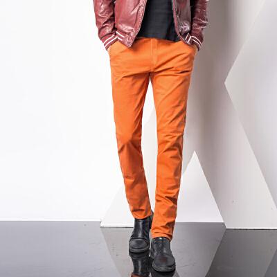1号牛仔 春夏装小脚裤西装裤英伦男士商务休闲裤韩版修身潮男直筒长裤