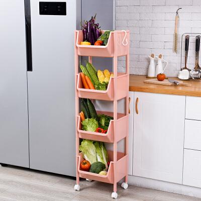 厨房用品蔬菜置物架收纳架落地多层塑料家用果蔬储物架水果收纳筐 发货周期:一般在付款后2-90天左右发货,具体发货时间请以与客服协商的时间为准