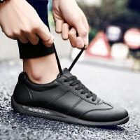 春季男士运动鞋韩版潮流小白鞋男英伦啊甘跑步鞋学生板鞋男平底休闲潮鞋