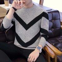 青少年冬装韩版潮流套头毛衣男装时尚休闲针织衫秋季学生上衣